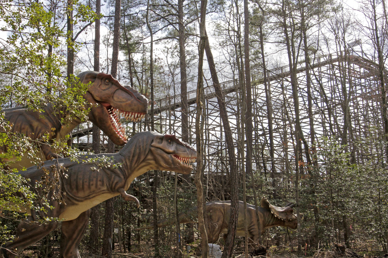 R Dinosaurs Alive Kings Dominion Dinosau...