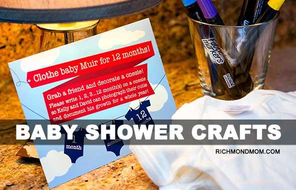 7f107bd22 Baby Shower Crafts - Richmond Mom